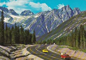 Canada British Columbia Rogers Pass In The Selkirk Range Canadian Rockies