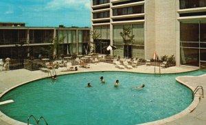 Troy, Michigan, MI, Somerset Inn, Four Seasons Pool, Vintage Postcard g8910