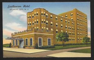 Eastbourne Hotel Atlantic City NJ unused c1940's