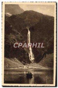 Postcard Old Ocean Pyrenees Luchon Lake Oo la Grande Cascade