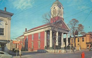 Jefferson County Court House, Charles Town, West Virginia ca 1950s Postcard
