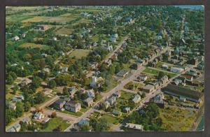 Aerial View Of Pictou, Nova Scotia - 1978 Used
