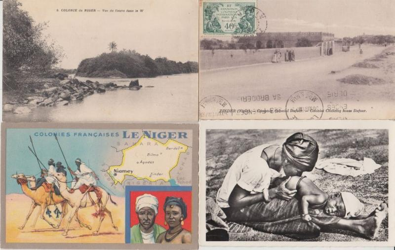 NIGER AFRICA AFRIQUE WITH BETTER 13 CPA (pre-1940) (L2838)