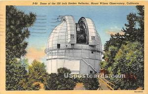 Dome, Mount Wilson Observatory