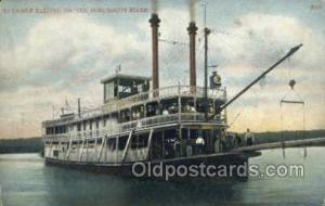 Eclipse Steamer, Steam Boat, Steamboat, Ship, Ships, Postcard Post Cards  Ecl...