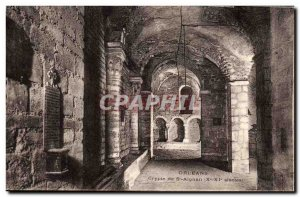 Postcard Old Orleans Crypt of St Aignan