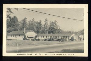Westfield, Massachusetts/MA/Mass Postcard, Marnich Court Motel, US Route 202-10