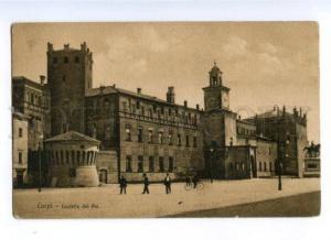 173190 ITALY CAPRI Castello dei Pio Vintage postcard