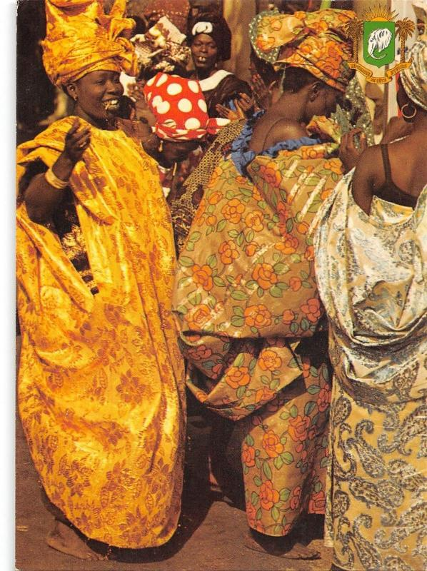 BR50455 Cote d Ivoire costumes traditionales folklorics costumes    Africa