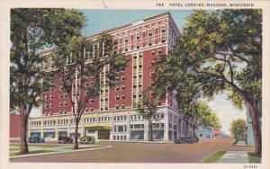 Wiscosin Madison Hotel Loraine Curteich