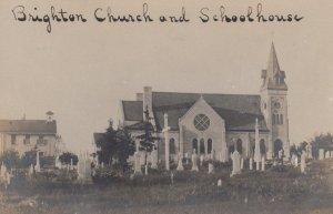 RP: BRIGHTON , Sussex , 1901-07 ; Church , Schoolhouse & Cemetery