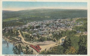MAUCH CHUNK, Pennsylvania, 1900-10s; East Mauch Chunk From Bear Mountain