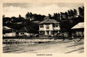 INDONESIA PC DUTCH INDIES - SUMATRA - Sociéteit Sabang (a1758)