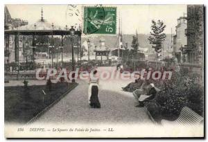 Postcard From Old Dieppe Square Courthouse