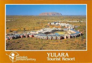 Australia Yulara Tourist Resort, Ayers Rock Panorama