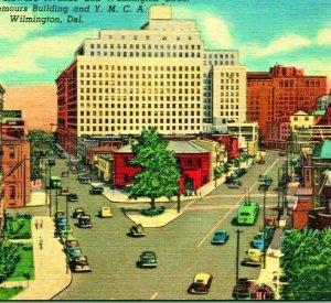 Wilmington Delaware De Washington Calle Intersección Ymca Lino Postal Unp