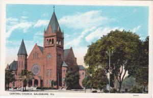 Central Church, Galesburg, Illinois, 1910-1920s