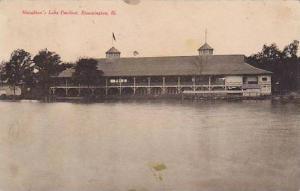 Houghton's Lake Pavilion, Bloomington, Illinois, PU-1908