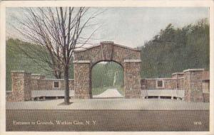 New York Watkins Glen Entrance To Grounds