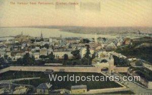Harbour from Parliament Quebec Canada Unused