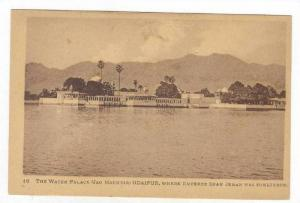 The Water Palace (Jag Maundir), Udaipur, India, 1900-1910s