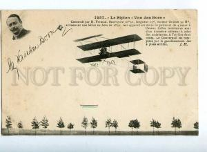 205483 FRANCE AVIATION airplane Van den Born Hauser #1257