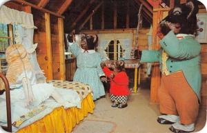 Coloma Michigan Deer Forest Goldilocks Hut Vintage Postcard K59556