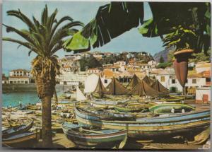 CAMARA DE LOBOS (Madeira), Vila piscatoria, Fishing Village, used Postcard