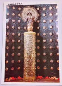 Spain, Zaragoza, Virgen del Pilar, Camerin de la Virgen, Colour Postcard