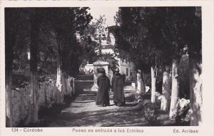 RP, Paseo De Entrada A Las Ermitas, Priests, Cross, CORDOBA (Andalucia), Spai...