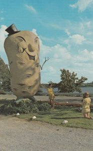 FREDERICTON , New Brunswick , Canada , 1950-60s ; The Potato Man