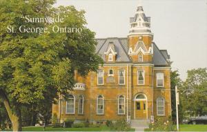 Sunnyside, Office of South Dumfries Township, St. George, Ontario, Canada, 40...