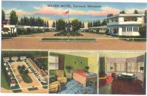 Wilken Motel in Fairmont, Minnesota, MN,  Linen