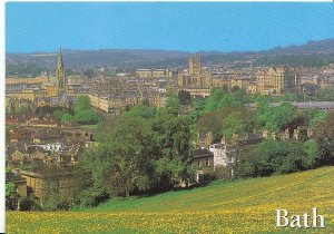 Somerset Postcard - Bath from Bathwick  AB671