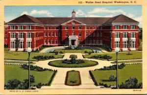 Washington D C Walter Reed Hospital 1945 Curteich