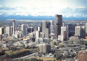 Canada Calgary Alberta, The Rocky Mountains Panoramic view