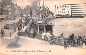Cherbourg Germany Depart du bateau de Guernesey Cherbourg Depart du bateau de...