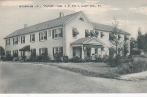 CAMP HILL , Pennsylvania , 1930s ; Georgian Hall, Tourist Home