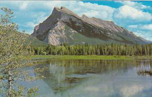 Canada Banff Mount Rundle Alberta