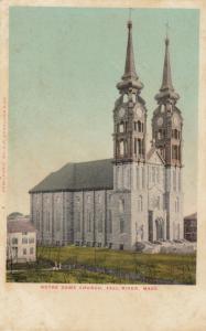 FALL RIVER, Massachusetts, 1900-10s; Notre Dame Church