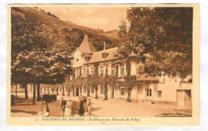 Bagneres-de Bigorre-Etablissement Thermal de Salut, France, 00-10s