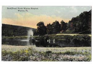 Duck Pond North Warren Hospital Warren Pennsylvania