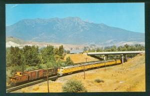 Union Pacific Domeliner Diesel Passenger Locomtive UP Train Railroad UT Postcard