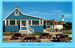 Maine Cape Elizabeth Two Lights Lobster Shack