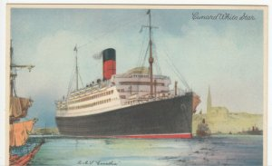 Shipping; Cunard White Star RMS Carinthia PPC, Unposted, c 1930's