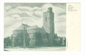 St. Paul's Church, Paterson, New Jersey, 1900-10s