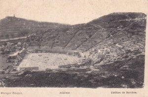 ATHENS, Greece, 1900-1910s; Theatre De Bacchus