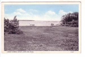 Lower Harbor, Cotuit, Cape Cod, Massachusetts, E D West Co