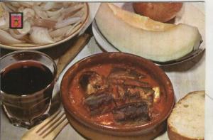Postal 003800: Iberia: Anguilas con all i pebre