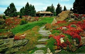 Washington Wenatchee Ohme Gardens Rustic Lodge